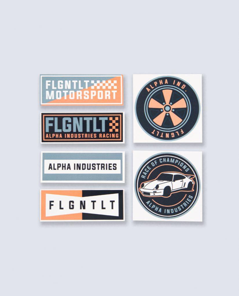 Flgntlt x Alpha Industries Sticker